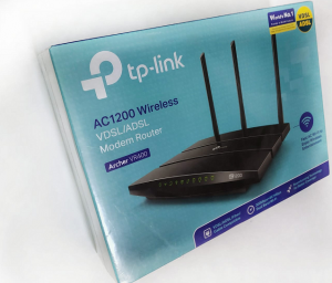 ראוטר ADSL  tp link vr400
